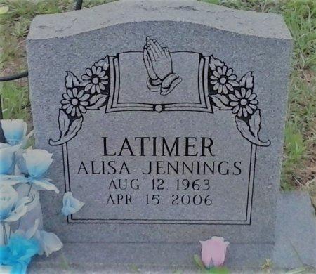 JENNINGS LATIMER, ALISA - Young County, Texas | ALISA JENNINGS LATIMER - Texas Gravestone Photos