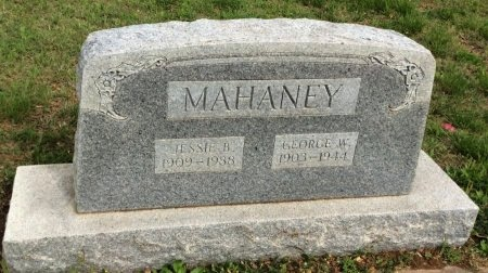 MAHANEY, JESSIE B. - Young County, Texas | JESSIE B. MAHANEY - Texas Gravestone Photos
