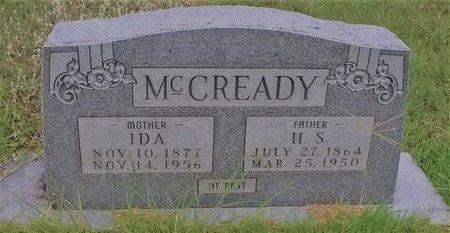 TAYLOR MCCREADY, IDA - Young County, Texas   IDA TAYLOR MCCREADY - Texas Gravestone Photos