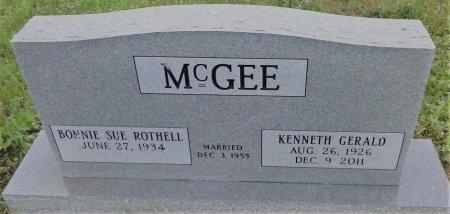MCGEE, KENNETH GERALD  - Young County, Texas | KENNETH GERALD  MCGEE - Texas Gravestone Photos