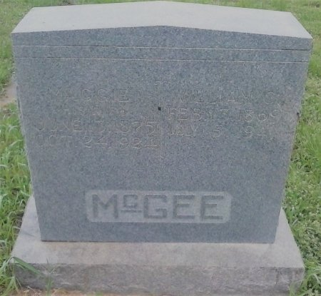 HAMMONDS MCGEE, MAGGIE - Young County, Texas | MAGGIE HAMMONDS MCGEE - Texas Gravestone Photos