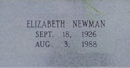 HIGGINS NEWMAN, ELIZABETH - Young County, Texas | ELIZABETH HIGGINS NEWMAN - Texas Gravestone Photos