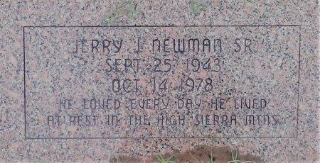 NEWMAN SR., JERRY J  - Young County, Texas | JERRY J  NEWMAN SR. - Texas Gravestone Photos