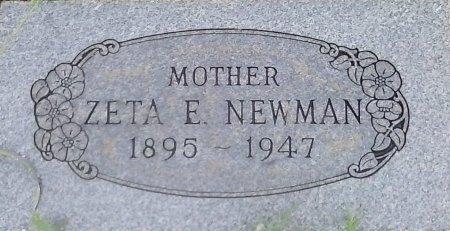 NEWMAN, ZETA E - Young County, Texas | ZETA E NEWMAN - Texas Gravestone Photos