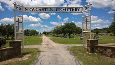 OVERVIEW, NEWCASTLE CEMETERY - Young County, Texas | NEWCASTLE CEMETERY OVERVIEW - Texas Gravestone Photos