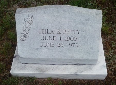 PETTY, LEILA S - Young County, Texas | LEILA S PETTY - Texas Gravestone Photos