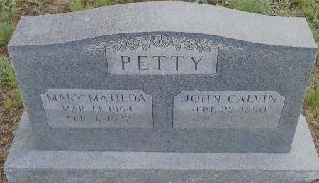 PETTY, JOHN CALVIN - Young County, Texas | JOHN CALVIN PETTY - Texas Gravestone Photos