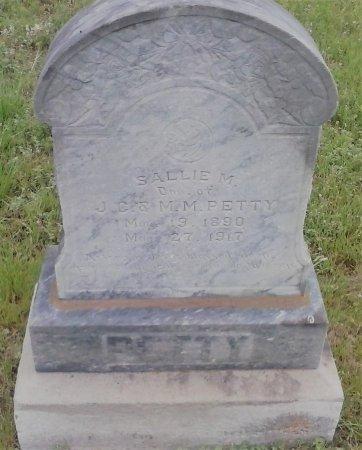 PETTY, SALLIE M. - Young County, Texas   SALLIE M. PETTY - Texas Gravestone Photos