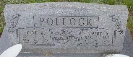 SMITH POLLOCK, OLIVE A - Young County, Texas | OLIVE A SMITH POLLOCK - Texas Gravestone Photos