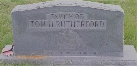 RUTHERFORD, TOM H. - Young County, Texas | TOM H. RUTHERFORD - Texas Gravestone Photos