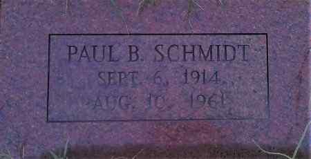 SCHMIDT, PAUL B - Young County, Texas | PAUL B SCHMIDT - Texas Gravestone Photos