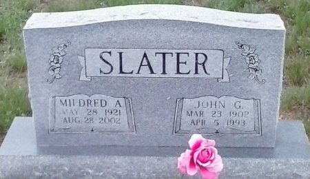 SLATER, MILDRED A - Young County, Texas | MILDRED A SLATER - Texas Gravestone Photos