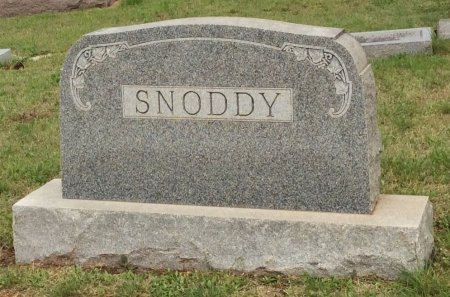 SNODDY, FAMILY STONE - Young County, Texas | FAMILY STONE SNODDY - Texas Gravestone Photos