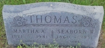THOMAS, MARTHA A - Young County, Texas | MARTHA A THOMAS - Texas Gravestone Photos