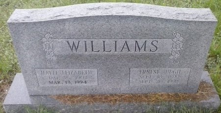 THOMAS WILLIAMS, HATTI ELIZABETH - Young County, Texas | HATTI ELIZABETH THOMAS WILLIAMS - Texas Gravestone Photos