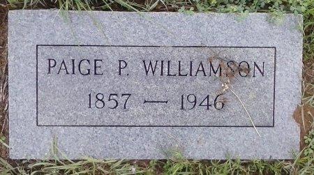 WILLIAMSON, PAIGE P - Young County, Texas   PAIGE P WILLIAMSON - Texas Gravestone Photos
