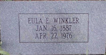 WINKLER, EULA E - Young County, Texas   EULA E WINKLER - Texas Gravestone Photos