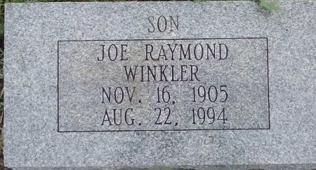 WINKLER, JOE RAYMOND - Young County, Texas | JOE RAYMOND WINKLER - Texas Gravestone Photos