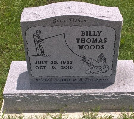 WOODS, BILLY THOMAS - Young County, Texas | BILLY THOMAS WOODS - Texas Gravestone Photos