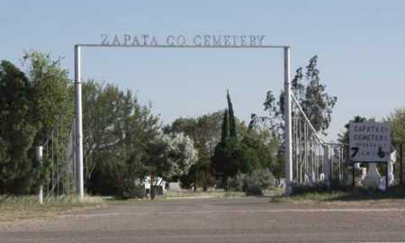 *ENTRANCE,  - Zapata County, Texas    *ENTRANCE - Texas Gravestone Photos