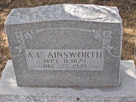 AINSWORTH, A. C. - Zavala County, Texas | A. C. AINSWORTH - Texas Gravestone Photos