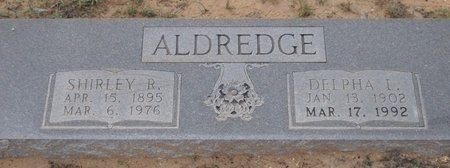 ALDREDGE, DELPHA L. - Zavala County, Texas | DELPHA L. ALDREDGE - Texas Gravestone Photos