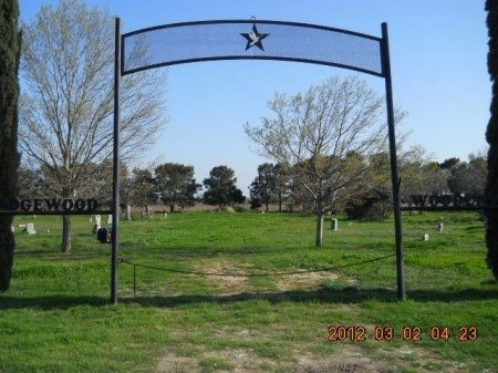 *CEMETERY VIEW,  - Zavala County, Texas |  *CEMETERY VIEW - Texas Gravestone Photos