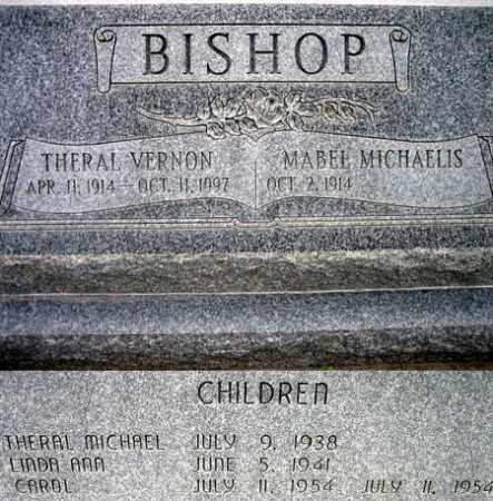 BISHOP, MABEL MICHAELIS - Box Elder County, Utah   MABEL MICHAELIS BISHOP - Utah Gravestone Photos