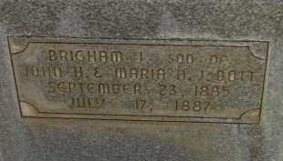 BOTT, BRIGHAM J - Box Elder County, Utah   BRIGHAM J BOTT - Utah Gravestone Photos