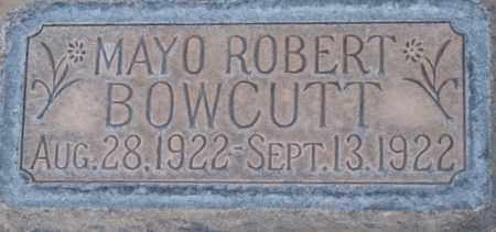 BOWCUTT, MAYO ROBERT - Box Elder County, Utah | MAYO ROBERT BOWCUTT - Utah Gravestone Photos