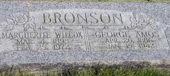 BRONSON, MARGUERITE - Box Elder County, Utah | MARGUERITE BRONSON - Utah Gravestone Photos