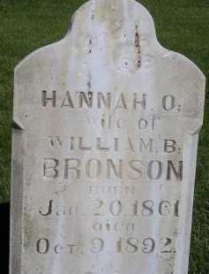 BRONSON, HANNAH ORINDA - Box Elder County, Utah   HANNAH ORINDA BRONSON - Utah Gravestone Photos