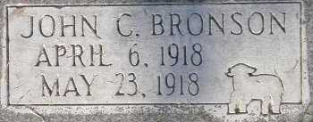 BRONSON, JOHN CLIVE - Box Elder County, Utah | JOHN CLIVE BRONSON - Utah Gravestone Photos