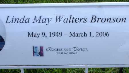 WALTERS BRONSON, LINDA MAY - Box Elder County, Utah | LINDA MAY WALTERS BRONSON - Utah Gravestone Photos