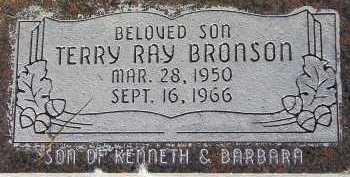 BRONSON, TERRY RAY - Box Elder County, Utah | TERRY RAY BRONSON - Utah Gravestone Photos