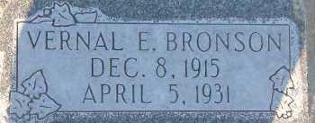 BRONSON, VERNAL EARL - Box Elder County, Utah | VERNAL EARL BRONSON - Utah Gravestone Photos
