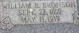 BRONSON, WILLIAM BUTTON - Box Elder County, Utah | WILLIAM BUTTON BRONSON - Utah Gravestone Photos