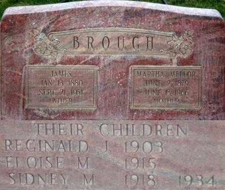 BROUGH, MARTHA - Box Elder County, Utah   MARTHA BROUGH - Utah Gravestone Photos