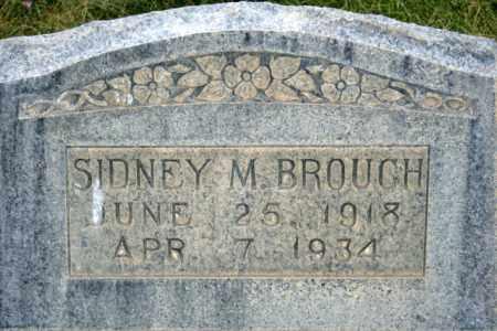 BROUGH, SIDNEY M. - Box Elder County, Utah | SIDNEY M. BROUGH - Utah Gravestone Photos