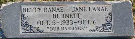 BURNETT, JANE LANAE - Box Elder County, Utah | JANE LANAE BURNETT - Utah Gravestone Photos