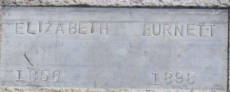 BURNETT, ELIZABETH - Box Elder County, Utah   ELIZABETH BURNETT - Utah Gravestone Photos