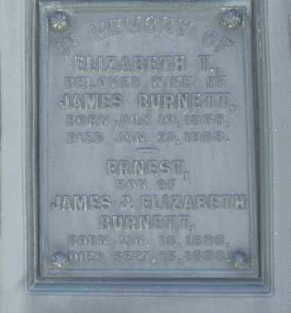 BURNETT, ELIZABETH - Box Elder County, Utah | ELIZABETH BURNETT - Utah Gravestone Photos