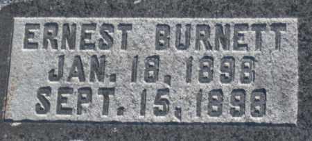 BURNETT, ERNEST - Box Elder County, Utah | ERNEST BURNETT - Utah Gravestone Photos