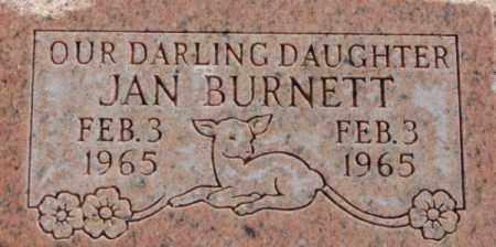 BURNETT, JAN - Box Elder County, Utah   JAN BURNETT - Utah Gravestone Photos