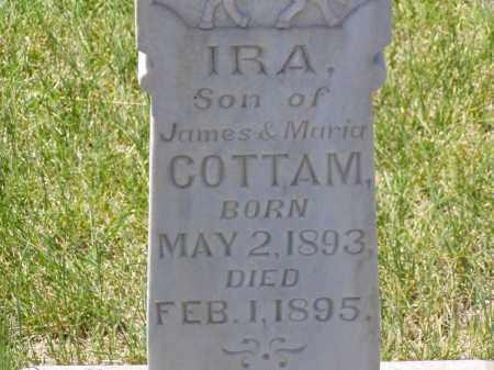 COTTAM, IRA - Box Elder County, Utah   IRA COTTAM - Utah Gravestone Photos