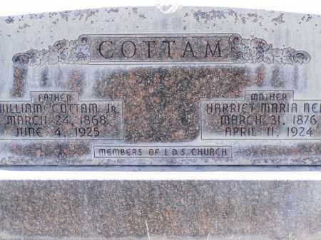 COTTAM, HARRIET MARIA - Box Elder County, Utah | HARRIET MARIA COTTAM - Utah Gravestone Photos