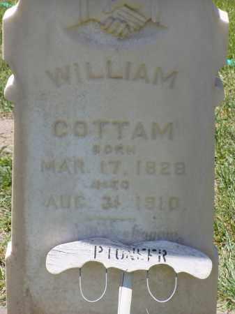 COTTAM, WILLIAM - Box Elder County, Utah | WILLIAM COTTAM - Utah Gravestone Photos