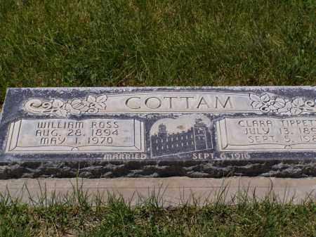 COTTAM, CLARA - Box Elder County, Utah | CLARA COTTAM - Utah Gravestone Photos