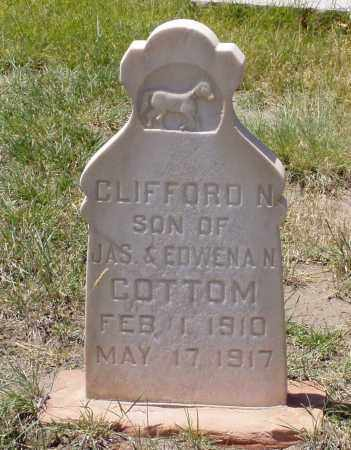 COTTOM, CLIFFORD NELSON - Box Elder County, Utah | CLIFFORD NELSON COTTOM - Utah Gravestone Photos