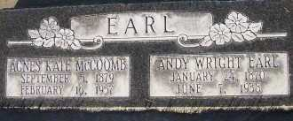 MCCOOMB EARL, AGNES KATE - Box Elder County, Utah | AGNES KATE MCCOOMB EARL - Utah Gravestone Photos